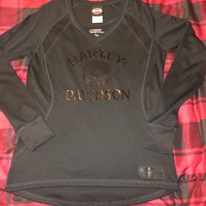 Harley Davidson Long Sleeve Shirt Medium